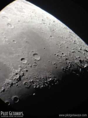 The moon through the 60-inch telescope