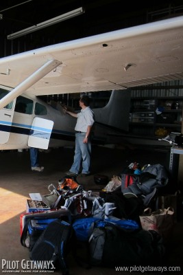 Loading the Cessna 185