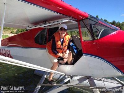 Nalena Rieder & Float Plane