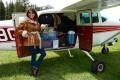 Ramona, Cessna 206 baggage door