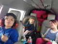 Family photo of kids in the Cherokee Six.