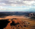 Monument Valley Aerial View