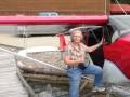 Wilma Melville & Float Plane