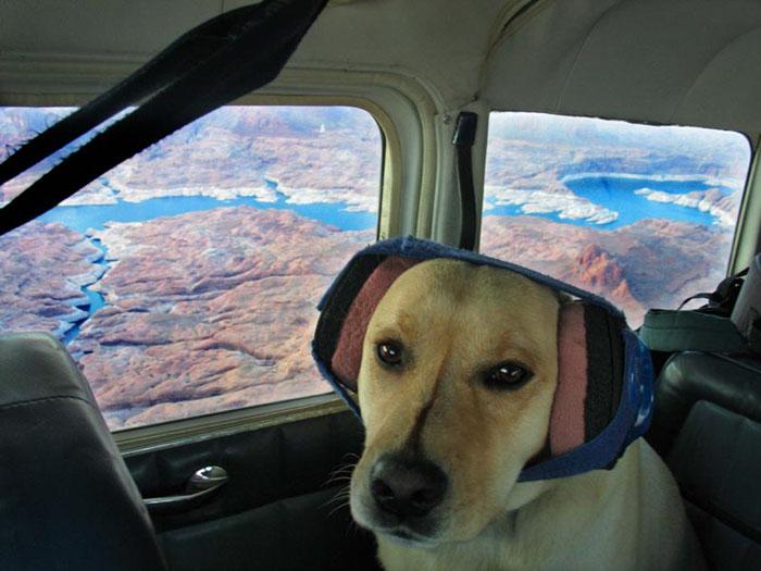 Flying above Lake Powell, UT
