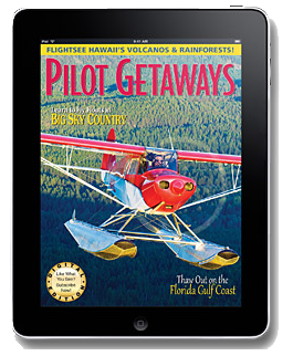 Pilot Getaways iPad App